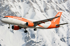 G-EZGZ (toptag) Tags: airbusa320214w gezgz inn lowi innsbruck easyjet aviation snow winter mountain tirol austria