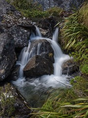 It's the little spots to look out for. (Alfredo Esing) Tags: 1255mm em5ii omd newzealand nz cascade falls outside thegreatoutdoors outdoors nature hiking hike slowshutter slow longexposure flow waterfall water