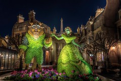 Beauty and the Beast (B-Martin Photography) Tags: epcot topiary beautyandthebeast france canonphotography canon disney wdw