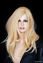 Brigitte Bardot sculpture  new makeup (Terry Minella) Tags: 60s famous celebrity bb brigitte bardot movie cinema rootstein mannequin schaufensterpuppe schaufensterfigur sculpture lifesize color photography brigittebardot