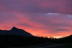 Sunrise, Jasper National Park. Alberta (www.clineriverphotography.com) Tags: yeartaken sunrisesunset alberta columbiaicefields canada 2011 jaspernationalpark location light