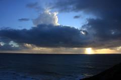 Clouds over the Ocean (JB by the Sea) Tags: montara halfmoonbay coastside california february2019 devilsslide devilsslidetrail devilsslidecoastaltrail pacificocean pacific ocean sunset