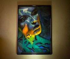 New work 2019 (REAF_ONE_KTF) Tags: graffiti art streetart portrait letters artwork canvas painting paint tag fear airbrush colour blue create creative lightroom canon canon700d