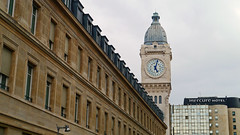 Paris - France (Mic V.) Tags: paris france gare de lyon clock tower horloge tour train station building architecture movie film set