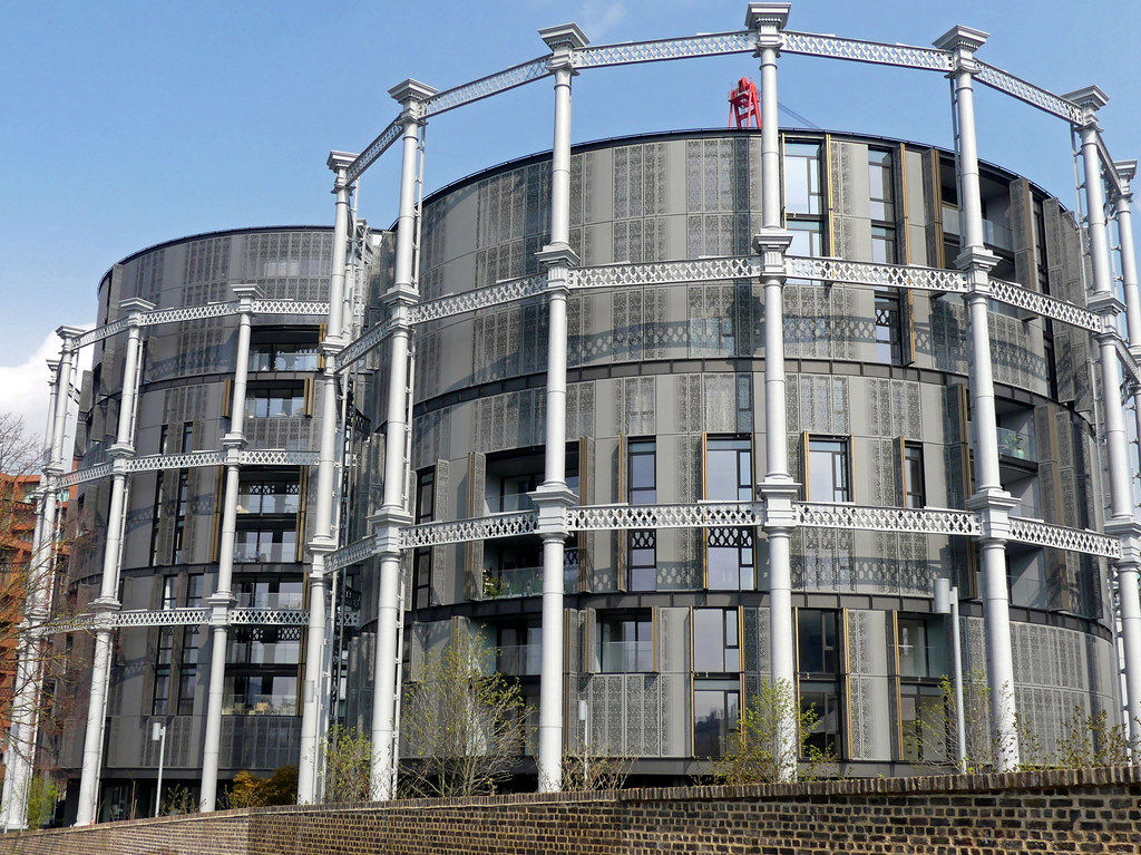 The World's newest photos of gasholder and gasometer