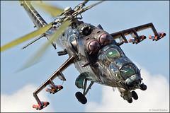 Mil Mi-24V Alien Tiger (Pavel Vanka) Tags: mil alientiger alien mi24v mi24 mi35 hind gunship helicopter heli tigercamo tigermeet art czechrepublic czechairforce pardubice aviationfair
