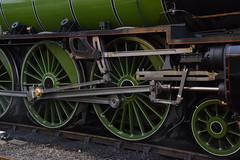 60163 Tornado - Valve Gear (simmonsphotography) Tags: railway railroad nenevalley heritage preservation locomotive engine train steam uksteam 60163 tornado peppercorn a1 lner pacific newbuild walschaerts valvegear wansford