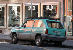 1984 Fiat Panda 45 S (rvandermaar) Tags: 1984 fiat panda 45 s 900 fiatpanda