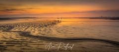 Maldon Winter Sunrise (Aron Radford Photography) Tags: maldon essex river shelter blackwater statue byrhtnoth promenade quay jetty sunrise glow dawn mud low tide