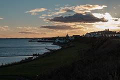 Waterkant von St. Monans (MadCyborg) Tags: fuji fujifilm xt20 schottland scottland fife sunset opposinglight contrejour gegenlicht gegendlich