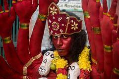 _DSC0699_1 (sarathy.selvamani) Tags: colour people festival india tamilnadu life red nikon cwc chennaiweekendclickers portrait kali