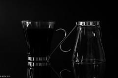 39 ~ 365 (BGDL) Tags: lightroomcc nikond7000 bgdl bwno7~365again niftyfifty nikkor50mm118gnikon blackandwhite coffeecups opposites