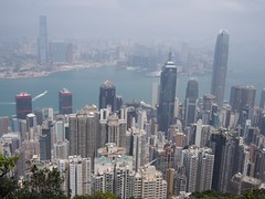 (procrast8) Tags: hong kong island china victoria peak mount austin harbour international commerce centre icc ifc finance