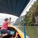 Ao Phang Nga, Christine Lamanna, Limestone Cliff, Long-tail Boat, Sea & Ocean, Thailand, Jan 2019