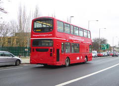HYT WVL212 - S1HYT - OSR - ELTHAM ROAD - SAT 16TH FEB 2019 (Bexleybus) Tags: eltham road south east london rail replacement bus service eastern trains bexleyheath line land slide 2019 wrightbus gemini volvo hire your transport wvl212 s1hyt