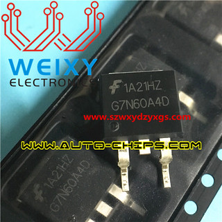 G7N60A4D Commonly used vulnerable field-effect transistor for car ECU