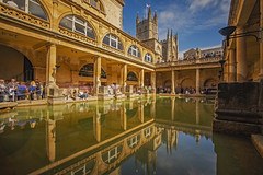 Aquae Sulis (Bath, Somerset, United Kingdom) (AndreaPucci) Tags: bath somerset uk roman andreapucci baths