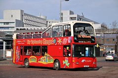 West Coast Motors (City Sightseeing Glasgow) YN55 RDV (10516) | C1 'Multi-Lingual Tour' | North Hanover St, Glasgow (Strathclyder) Tags: west coast motors westcoastmotors wcm citysightseeing scania n94ud east lancs eastlancs omnidekka yn55 rdv yn55rdv 10516 glasgow north hanover killermont street scotland tobermorytopper quantockmotorservices bishopslydeard