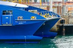 (LuCiuS Wong W.Y.) Tags: vessel hongkong hongkongmacauferryterminal austal highspeedcraft passengership
