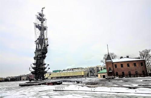 Monumento a Pedro el Grande - Moscú - Rusia