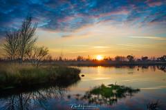 Zonsondergang (nandOOnline) Tags: 7riii grootepeel peelvenen sony winter elfde zonsondergang zon