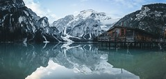 Lago di Braies (denny.cech) Tags: shot lightroom clouds water lake mountains photo foto photography beautiful love wildsee pragser 6000 alpha sony 16mm sigma italy southtyrol amazing lagodibraies