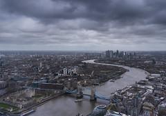 London skyline - River Thames (RedPlanetClaire) Tags: london capitol city england uk view shard river thames bridge