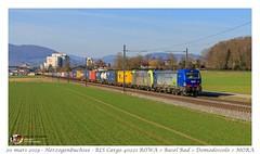 Br 193 495 Hupac BLS - Herzogenbuchsee (CC72080) Tags: vectron hupac bls br193 re486 train treno zug güterzug marchandise merci locomotive lokomotive locomotiva herzogenbuchsee traxx