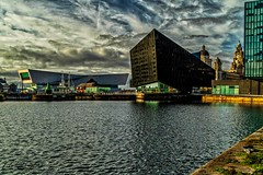 Views across Canning Dock (Phil Longfoot Photography) Tags: heritage dockside docks watercourse warehouses warehouse liverpool liverpoolphotography liverpoolcityscape