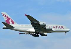 A7-APJ Qatar Airways Airbus A380-800 (czerwonyr) Tags: a7apj qatar airways airbus a380800 frankfurt fra eddf