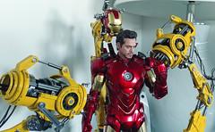 Iron Man Mark IV + Gantry (becauseBATMAN) Tags: hot toys iron man tony stark mark iv 4 mk gantry armor suit up base figure collectible 16 one sixth scale marvel comics ironman robert downey jr
