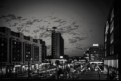 Berlin (mripp) Tags: art vintage retro old night black white mono monochrom berlin alex alexanderplatz mitte urban city stadt