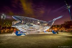 20190127-182328-1 (JungHsienこ °) Tags: tainan 台南 安平港 藝術裝置 鯨魚 taiwan laowa