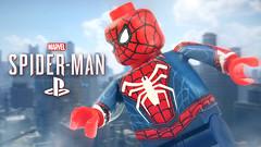 LEGO Spider-Man PS4 Advanced Suit Teaser (MGF Customs/Reviews) Tags: lego spiderman ps4 advanced suit custom minifigure minifig figure