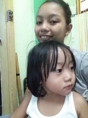 Herou and Ashley (ghostgirl_Annver) Tags: asia asian brother sister ashley family siblings girl boy teen child kid portrait happy
