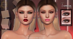 .E l e i. - Tamara (Eyeshadow) for Catwa, Genus & Omega @ Commotion Event February Round. (EleiGM) Tags: elei secondlife genus catwa omega eyeshadow makeup avatar 3d virtuallife