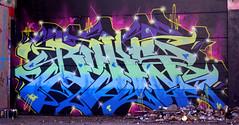 Oldenburg - (street: Melkbrink) 774th picture / Graffiti, street art (tusuwe.groeber) Tags: projekt project lovelycity graffiti germany deutschland lowersaxony oldenburg city streetart niedersachsen farbig farben favorit colourful colour sony sonyphotographing nex7 bunt red rot art gebäude building gelb grün green yellow konzept concept wall wand halloffame wandgestaltung lager lagerhalle hall halle melkbrink