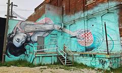 Casual Play by Michelle Tanguay (wiredforlego) Tags: graffiti mural streetart urbanart aerosolart publicart detroit michigan dtw mitm easternmarket michelletanguay