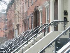 Classic Architecture, Snow View, Jersey City, New Jersey (lensepix) Tags: classicarchitecture snowview jerseycity newjersey winter snow