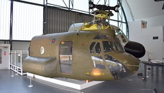 "Boeing VERTOL CH-47D Chinook c/n M.3034 United States Army serial 83-24104 preserved as RAF ""ZA718"" code BN (sirgunho) Tags: royal air force raf museum hendon london england united kingdom preserved aircraft aviation boeing vertol ch47d chinook cn m3034 states army serial 8324104 za718 code bn"
