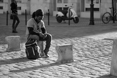 DSCF2073 (LexomIA) Tags: bordeaux street urbain bw nb streetphotography