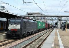 SBBC 189 109 te Dordrecht (erwin66101) Tags: ns sbb sbbc cargo locomotief containertrein container trein goederentrein goederen dordrecht station kijfhoek