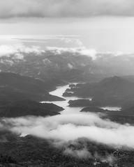 Samanala wewa (Chamikajperera) Tags: canon landscape bnw samanala wewa sri lanka balangoda mist clouds mountains