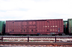 CB&Q Class XM-4C 49666 (Chuck Zeiler 54) Tags: cbq class xm4c 49666 burlington railroad boxcar box car freight cicero train chuckzeiler chz