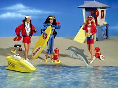 1994 Baywatch Barbie Ken Teresa (Barbie Collectors Guide '90s) Tags: 1994 baywatch barbie ken teresa