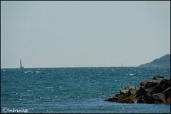 viavai (imma.brunetti) Tags: bacoli capomiseno miliscola campania napoli mare scogli panorama cielo vele barche orizzonte