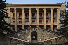 QWZ09923 (qwz) Tags: kislovodsk кисловодск architecture stairs entrance