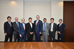 BC promotes LNG investment in Japan (BC Gov Photos) Tags: bc japan bruceralston georgechow trade mitsubishi lng lngcanada asiamission cleanbc