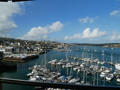 Falmouth - view from the National Maritime Museum (Dubris) Tags: england cornwall falmouth coast nationalmaritimemuseum