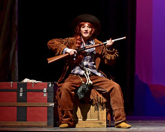 Annie Oakley (R.A. Killmer) Tags: anniegetyourgun musical show sing singer dancer stage costume bethelpark talented entertainer action dance highschool